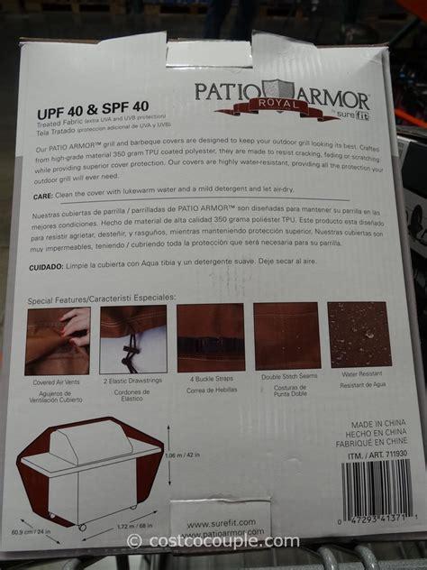 Patio Armor Costco Patio Armor Premium Grill Cover