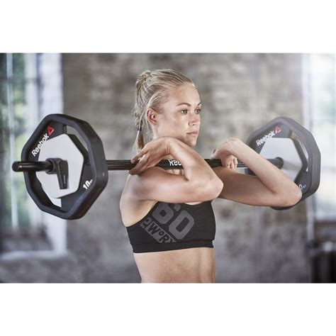 Barbel Reebok Home Fitness Equipment