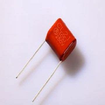 metalized polyester capacitor metallized polyester capacitor cl21 china capacitors electronic component