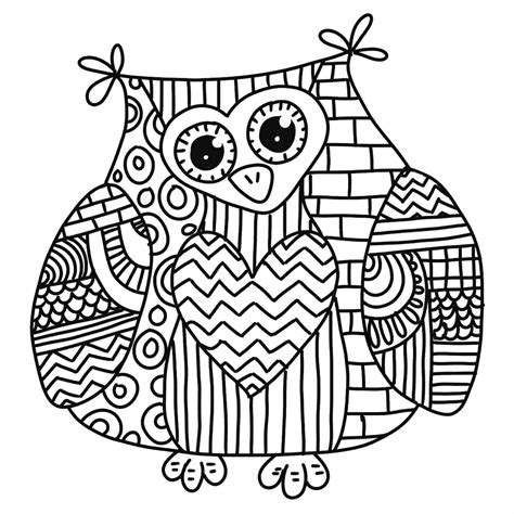wonderful owls coloring book for adults and stress reduction combining nature poetry and for relaxation meditation and creativity volume 2 books corujas para colorir imagens png