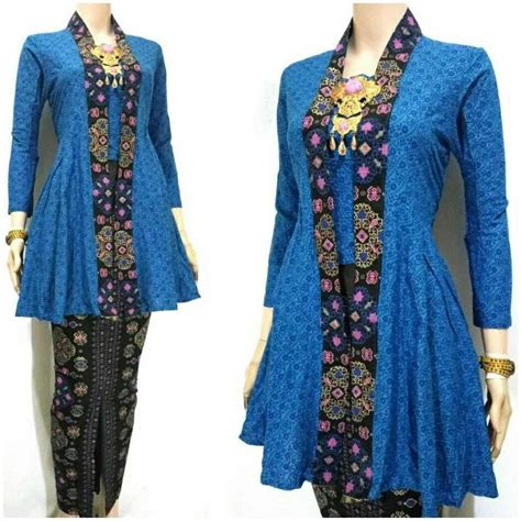 Setelan Kebaya Farah model baju batik kutu baru modern terbaru kabaya