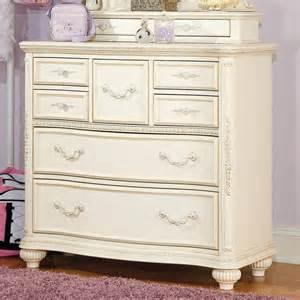 mcclintock antique white bureau traditional