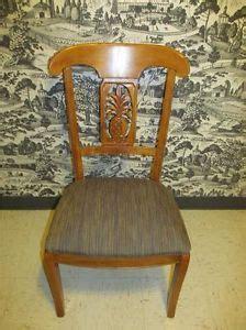 ethan allen radius chair brushed nickel metal 20th century
