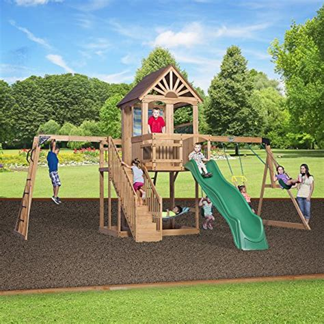 backyard playsets for older kids climbers and slides