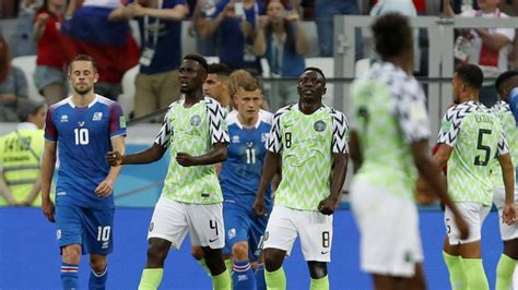 fifa world cup 2018 nigeria vs iceland highlights