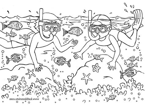 Coloring Page For Summer by Summer Free Colouring Pages