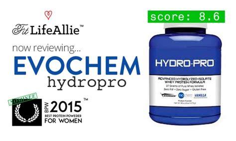 k protein pro evochem hydro pro protein review great macros jar