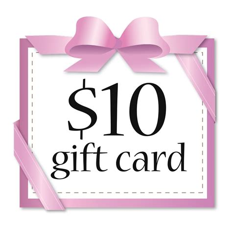 Card For Gift - 10 gift card