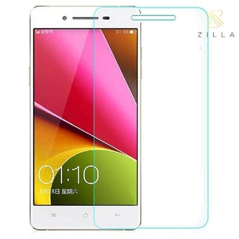 zilla 2 5d tempered glass curved edge 9h 0 26mm for oppo