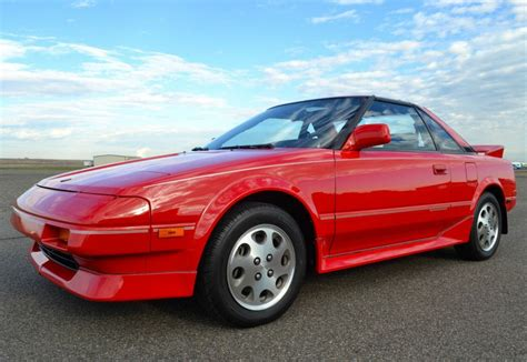 toyota mr2 1989 clean original 1989 toyota mr2 supercharged bring a trailer