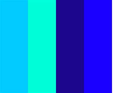 blue color palette feelin blue color palette
