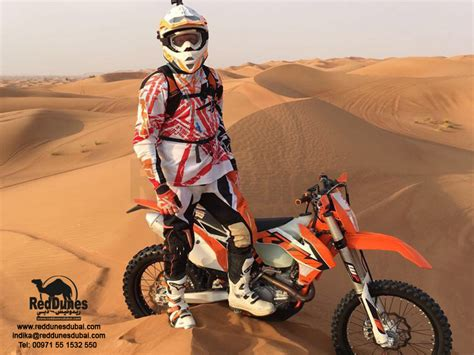 motocross biking ktm bike ride dubai ktm bike tour desert safari dubai