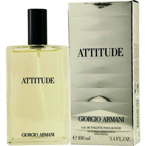 Armanis New Attitude by Giorgio Armani Attitude 3 4 Edt Sp Rechargeable Ga2502797
