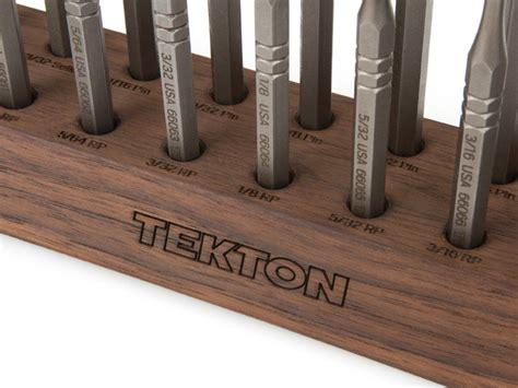 gunsmith bench block tekton 66564 gunsmith punch 18 piece set with walnut bench