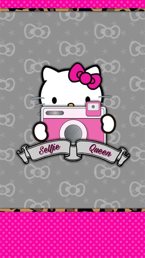 wallpaper hello kitty mini dazzle my droid say cheese mini wallpaper set