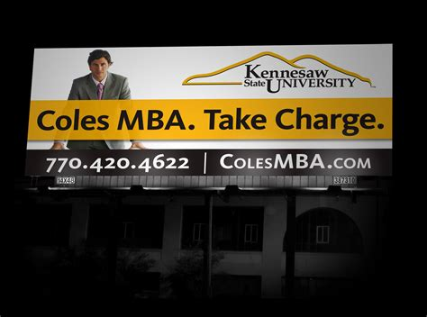 Kennesaw State Mba Admissions by Kennesaw State Billboard Portfolio Keylay