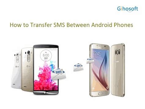 transfer sms from android to android how to transfer sms text messages from android to android