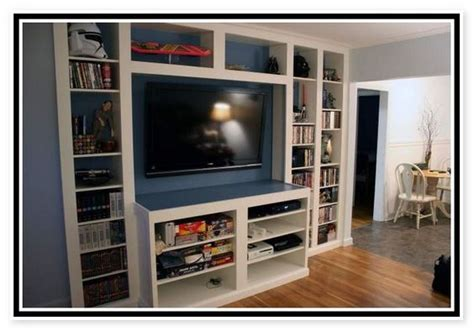 ikea billy bookcase entertainment center furniture