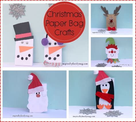 Paper Bag Craft For - paper bag crafts inspired by family