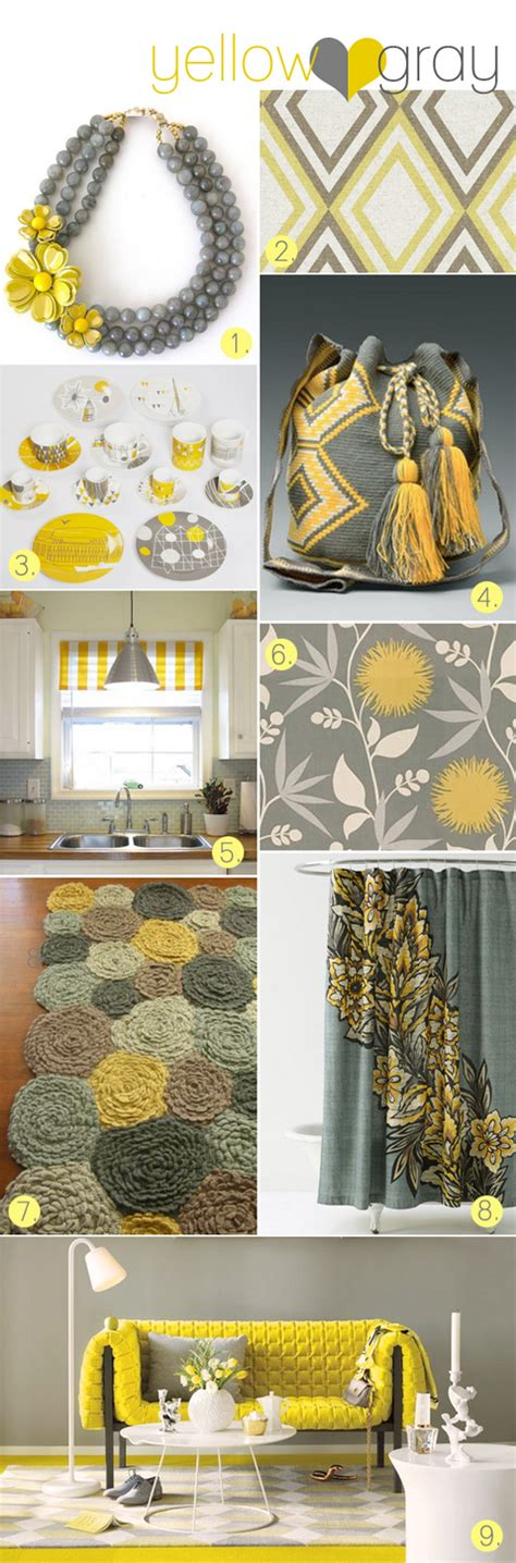 Gray And Yellow Bathroom Accessories Yellow And Gray Bathroom Accessories My Web Value