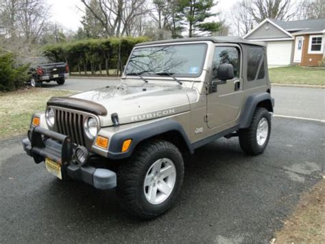 2004 Jeep Rubicon Mpg Sell Used 2004 Jeep Rubicon 4wd 5 Speed A C Am Fm Cd 2