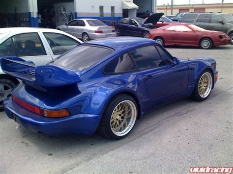 porsche 930 kit rauh welt inspired porsche 930 widebody racing news