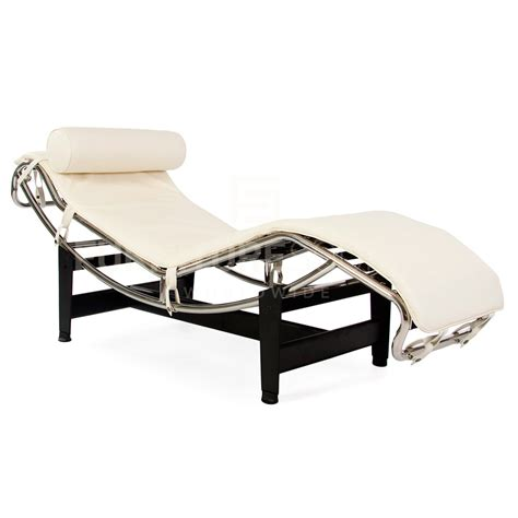 lc4 chaise lc4 adjustable chaise lounge in style of corbusier
