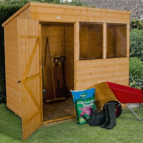 Garden Shed 5 X 7 by Forest Garden 7 X 5 Shiplap Dip Treated Pent Shed