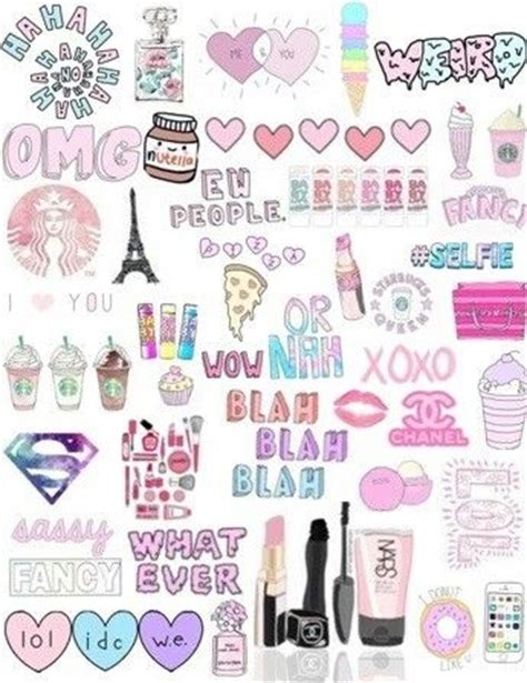 wallpaper girl things collage a imprimer pinterest collage et girly