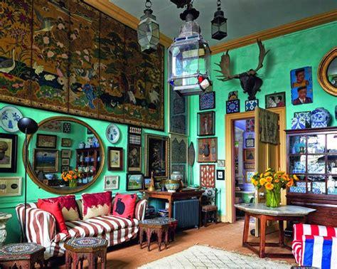 eccentric home decor green walls eccentric interiors by color