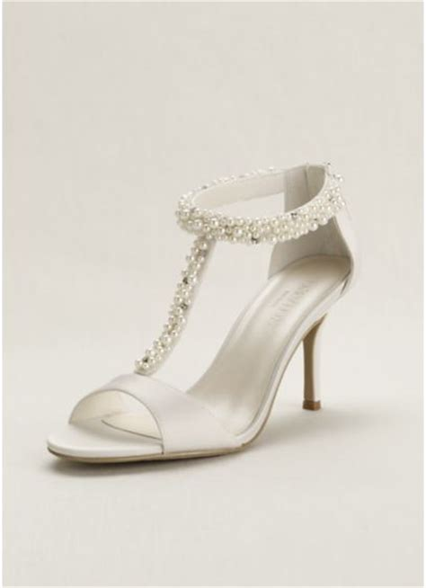 Ivory Bridal Sandals by Pearl And T Sandal Davids Bridal