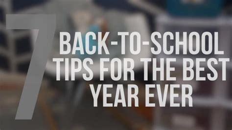 7 Back To School Solutions by 7 Back To School Tips Hgtv