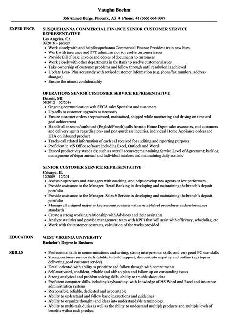 resume sle for technical support representative customer service representative resume images