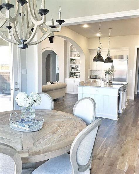 kitchen and dining room decorating ideas 37 best farmhouse dining room design and decor ideas for 2018