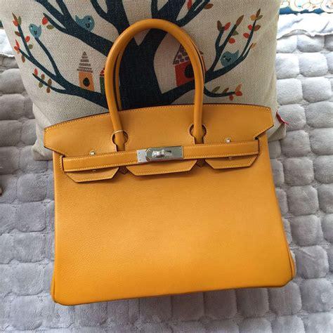 Hermes Bag Kayu Yellow high quality hermes birkin bag 30cm 9v sun yellow leather s tote bag hermes