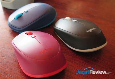 Logitech M337 Biru Bluetooth Mouse menjajal keyboard logitech k380 dan mouse logitech m337