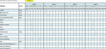 audit schedule template excel pictures to pin on pinterest