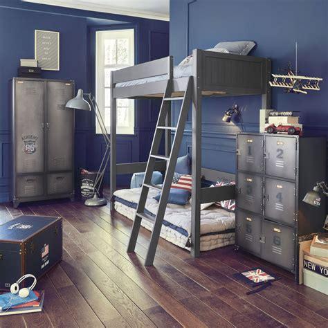 cassetti in metallo guardaroba stile industriale 2 ante 2 cassetti in metallo
