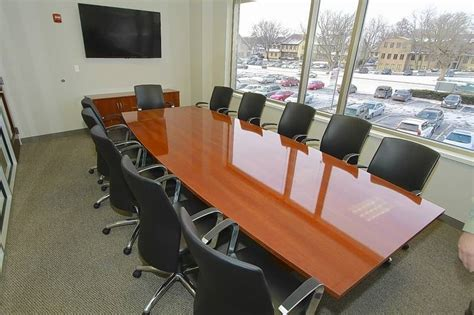 Rieke Office Interiors by Batir Architecture Of St Charles Wins A New Conference Room