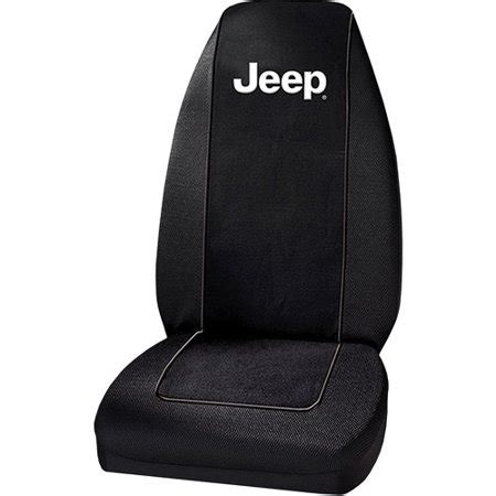 Cover Walmart by Plasticolor Jeep Text Embroidered Seat Cover Walmart