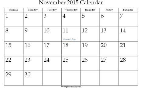 printable calendar 2015 november and december image gallery november 2015 printable