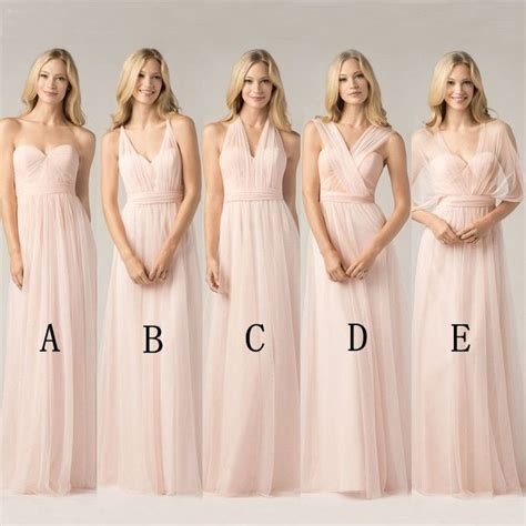 women hair styles for convertables 25 best ideas about blush pink bridesmaid dresses on