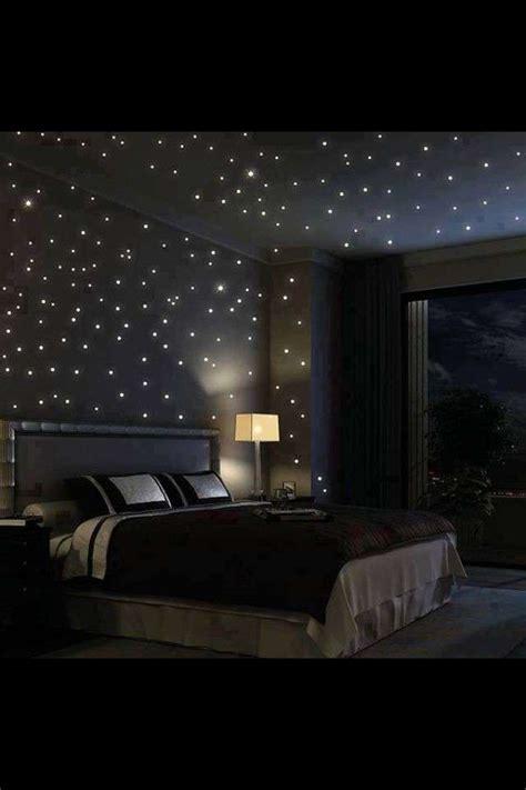 illuminazione cielo stellato illuminazione da letto foto design mag