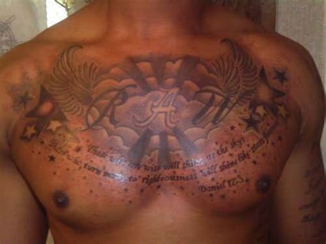 chest tattoos for men quotes chest tattoos for quotes quotesgram