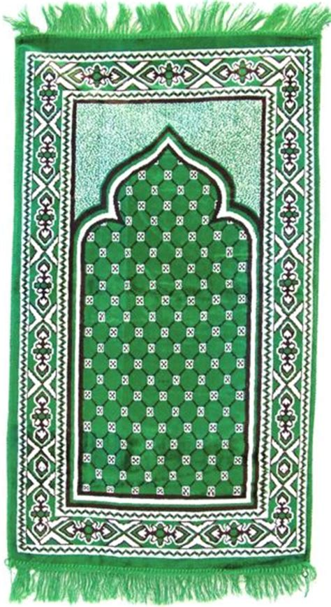 Islamic Pray Mats by Prayer Mat In Green Simplyislam