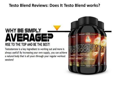 work testo ppt testo blend reviews does it testo blend works