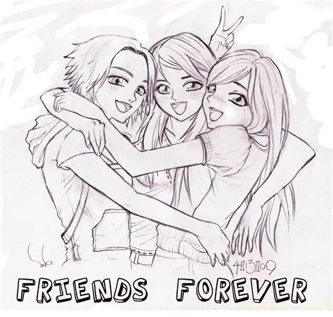 doodle with friends friendship drawings in pencil with quotes drawing of sketch
