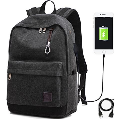 Backpack Laptop Bag Travel With Usb Port D8205w 17 3 Inch Olb1868 backpack trustbag laptop computer notebook backpacks with usb charging and headphone port usb