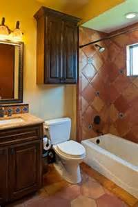 mexican bathroom ideas the branded towels and the mexican style tile in the