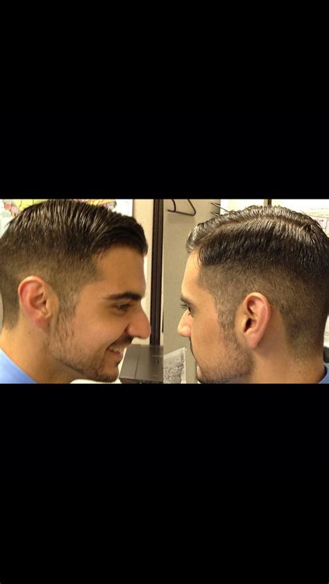 mens prohibition hairstyles men s haircut prohibition era business casual fusion